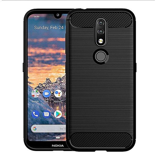 Carbon fiber гръб Nokia 4.2 2019