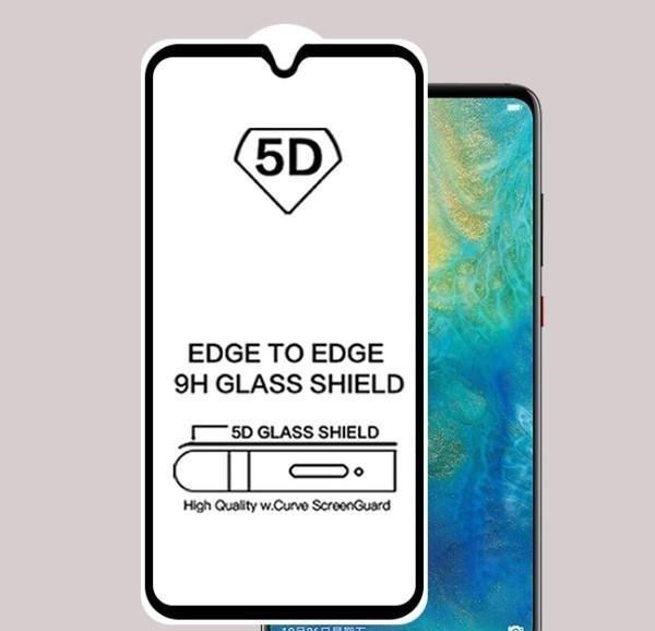 5D Glass FULL GLUE стъклен протектор Honor 20 Lite