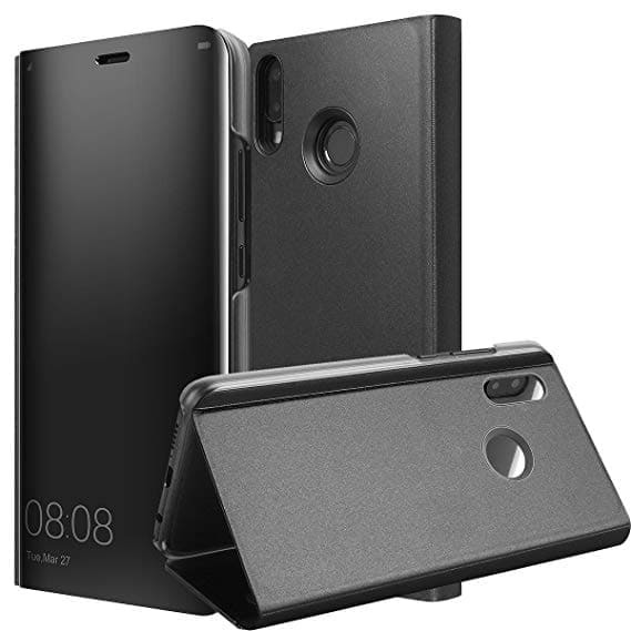 Clear View Flip Case Huawei P Smart Z