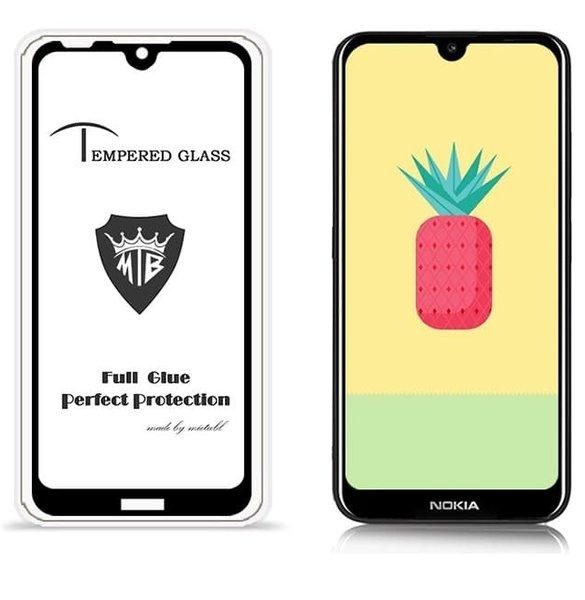5D Glass FULL GLUE стъклен протектор Nokia 2.2 2019