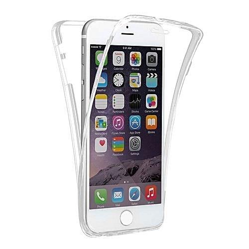 360 градусов кейс силиконов iPhone 7/8