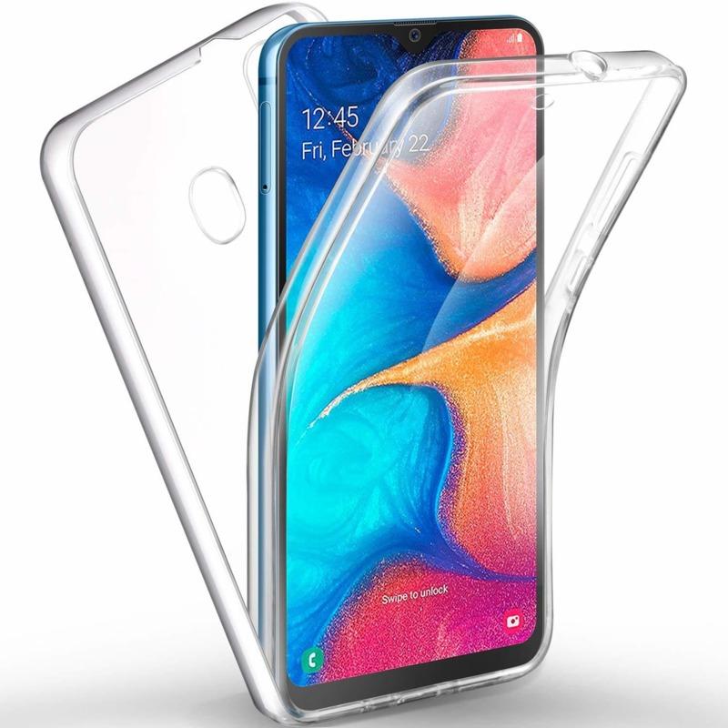 360 градусов кейс силиконов Samsung A20e