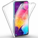 360 градусов кейс силиконов Samsung A40