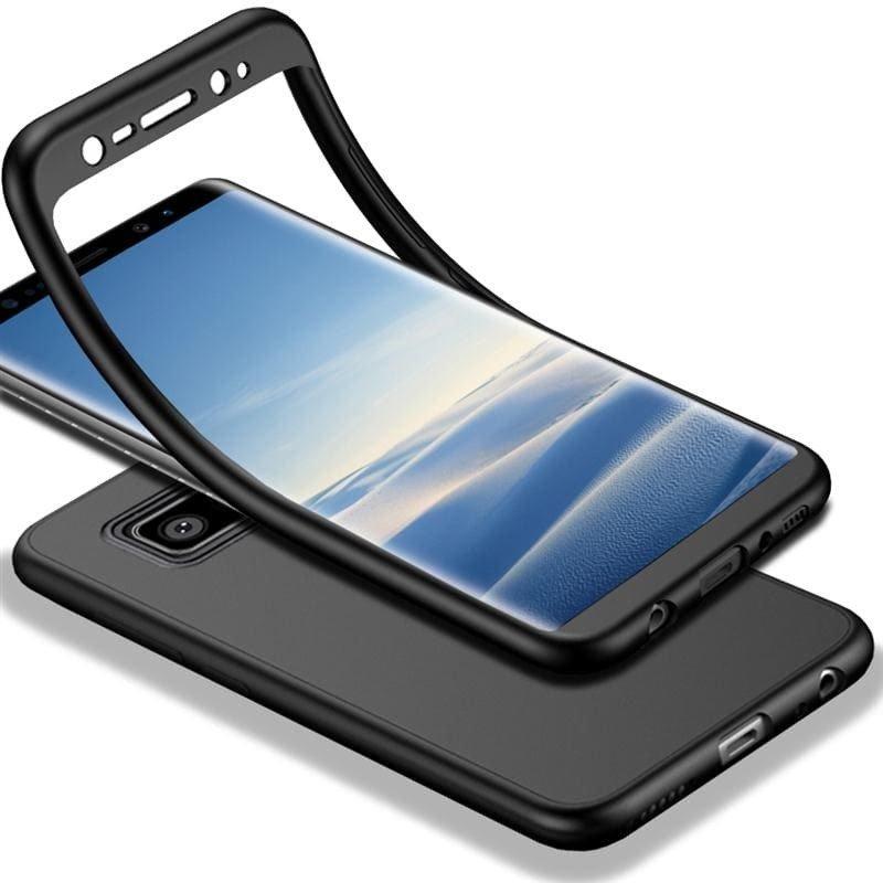 iCover Tpu 360 силиконов кейс Samsung A50 + Стъклен Протектор-Copy