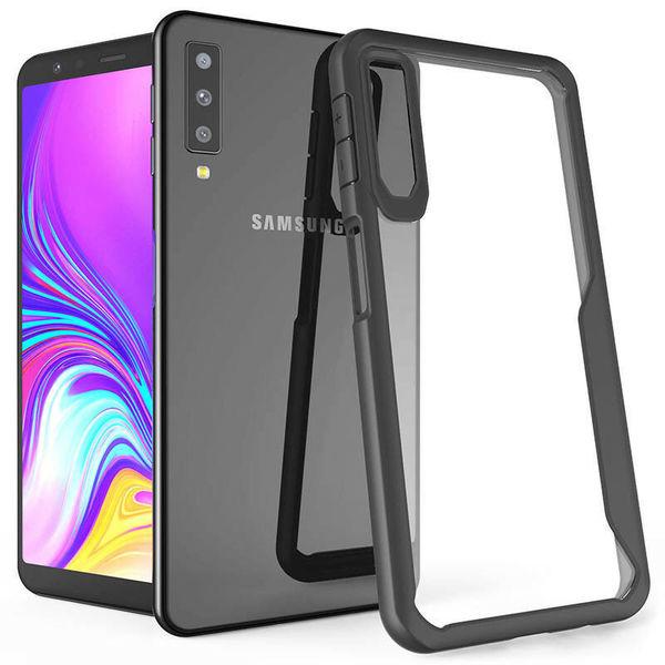 Ipaky Acrylic противоударен гръб Samsung A40