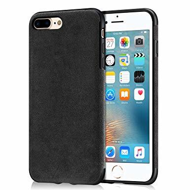 Alcantara кожен гръб Iphone 7/8 Plus