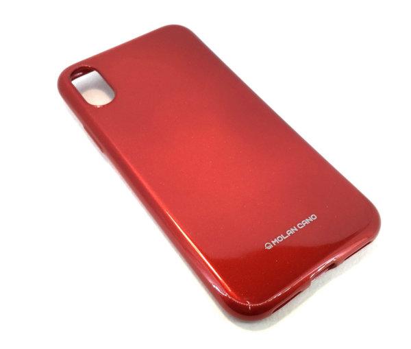 Molan Cano силиконов гланциран гръб Huawei P smart Z