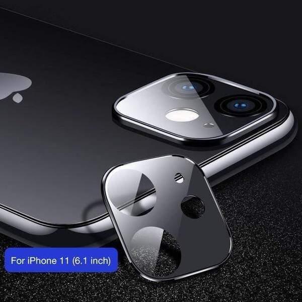 Full Face Стъклен протектор за камера Iphone 11