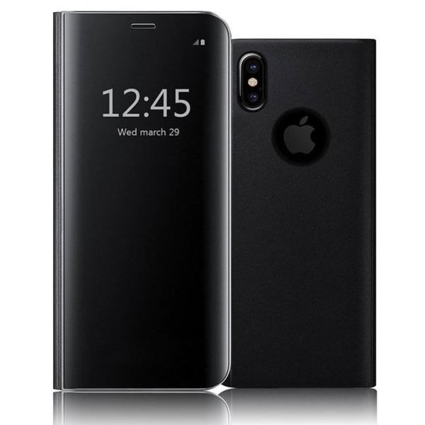 Promo Clear View Flip Case iPhone XS Max/9 Plus