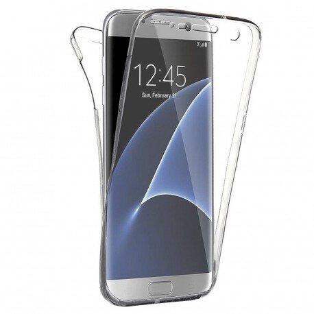 360 градусов кейс силиконов Samsung S7 Edge