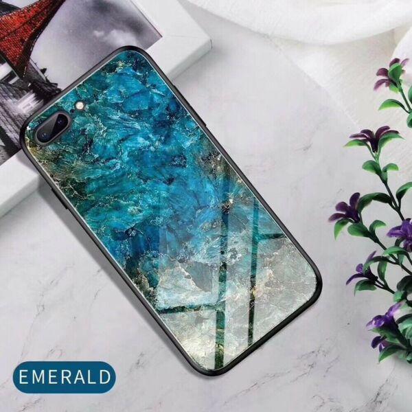 Glass case силиконов гръб iPhone 8 Plus