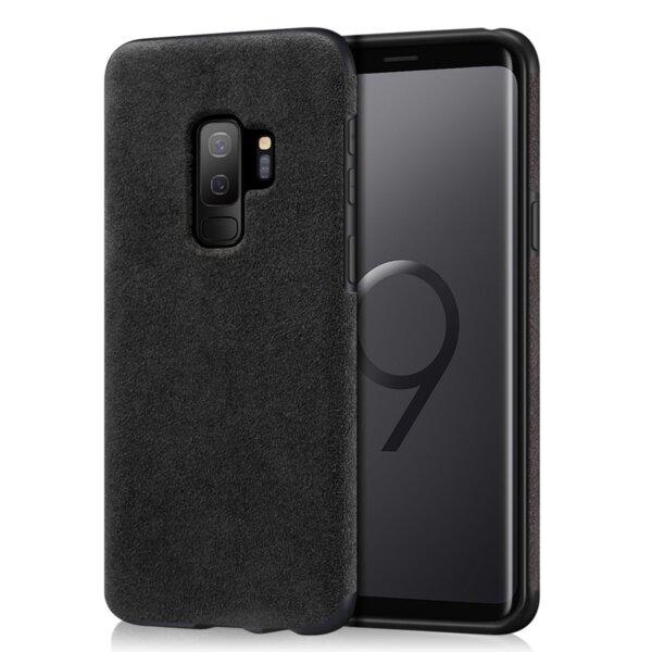 Alcantara кожен гръб Samsung S9 Plus