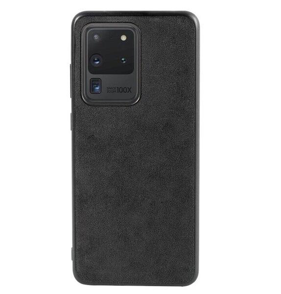 Alcantara кожен гръб Samsung S20/S20 Plus/S20 Ultra