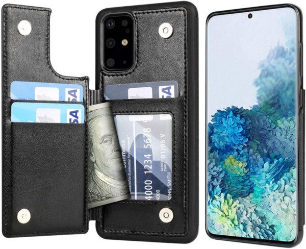 Кожен Magnetic case тип заден тефтер Samsung A51