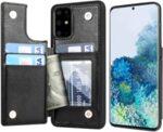 Кожен Magnetic case тип заден тефтер Samsung S20/S20 Plus