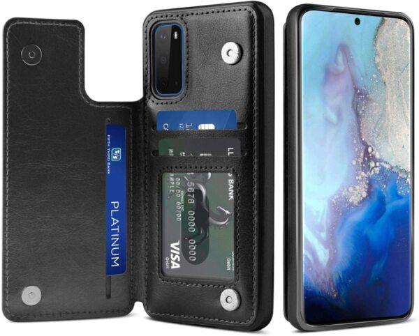 Кожен Magnetic case тип заден тефтер Samsung S10 Lite