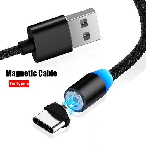 Магнитен кабел за зарежденe Type C/Iphone/Micro USB