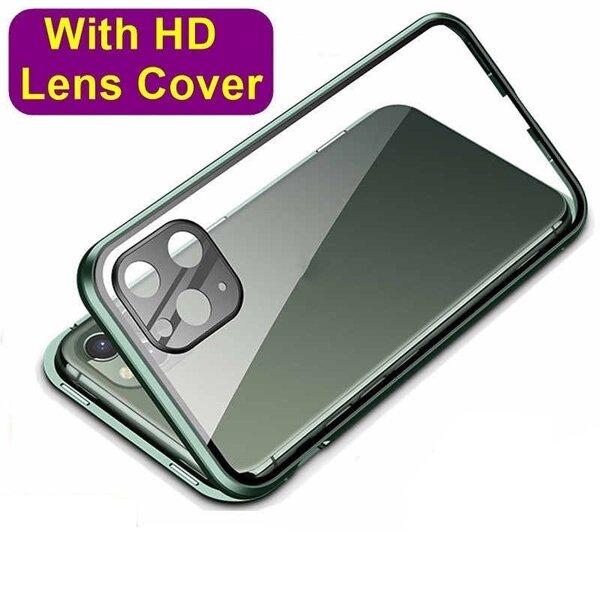 360 Magnetic Case с предно и задно стъкло Iphone 11 Pro/Pro Max + камера протектор