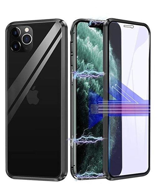 360 Magnetic Case с предно и задно стъкло iPhone 12/12 Pro