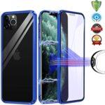360 Magnetic Case с предно и задно стъкло iPhone 12 Pro-Copy