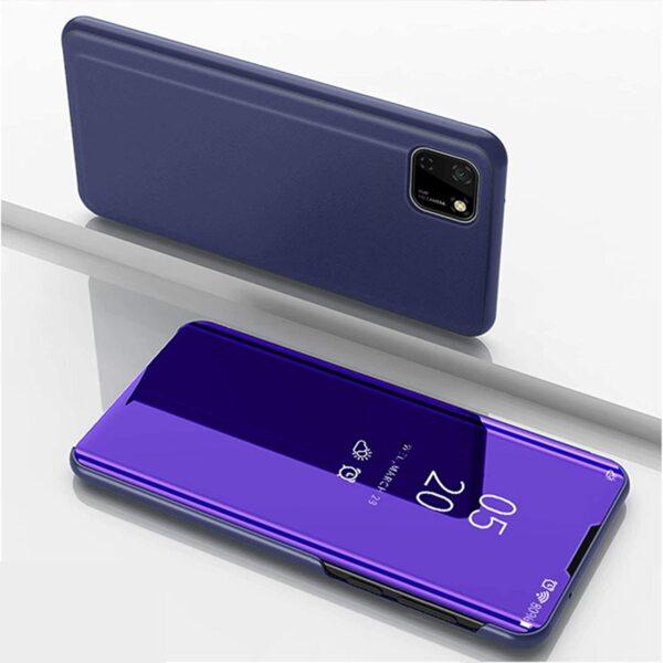 Clear View Flip Case Huawei Y5p 2020