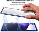 360 Magnetic Case с предно и задно стъкло Samsung A41-Copy