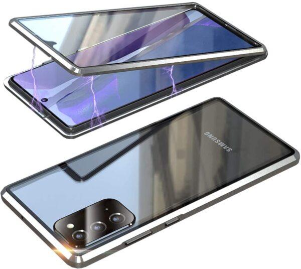 360 Magnetic Case с предно и задно стъкло Samsung Note 20