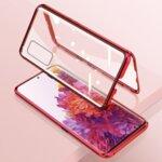 360 Magnetic Case с предно и задно стъкло Samsung S20FE