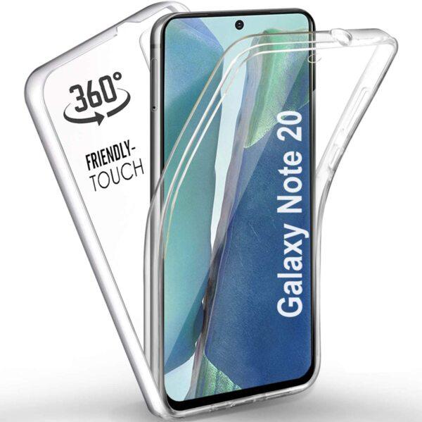 360 градусов кейс силиконов Samsung Note 20/Note 20 Ultra