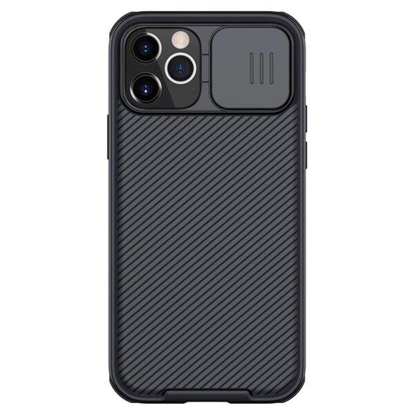 Slide Camera Cover силиконов гръб Iphone 12/12Pro