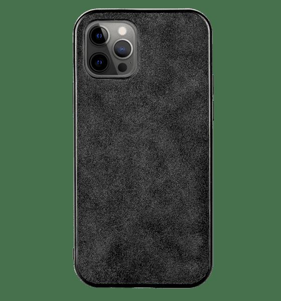 Alcantara кожен гръб Iphone 12/12 Pro