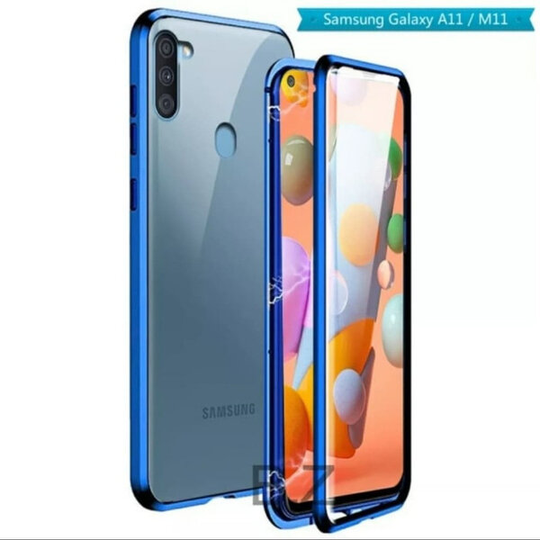 360 Magnetic Case с предно и задно стъкло Samsung A11