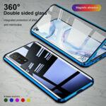 360 Magnetic Case с предно и задно стъкло Samsung S21-Copy