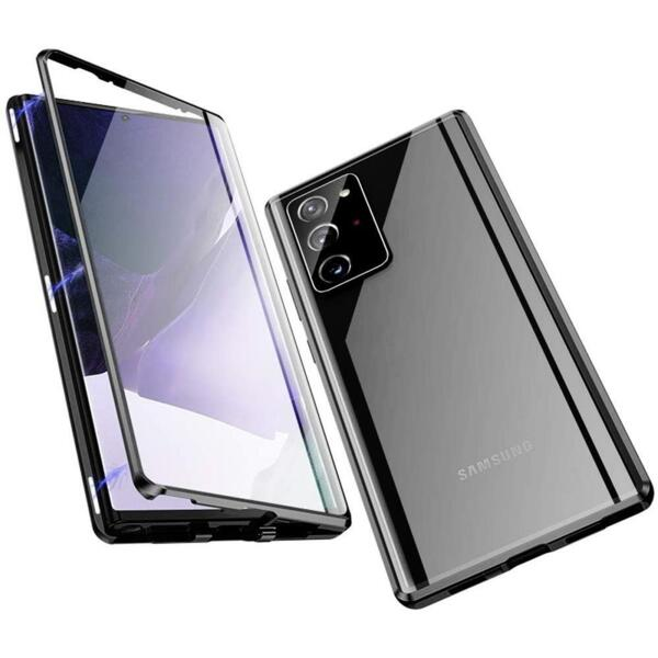 360 Magnetic Case с предно и задно стъкло Samsung S21 Ultra