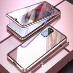360 Magnetic Case с предно и задно стъкло Samsung S21 Plus-Copy