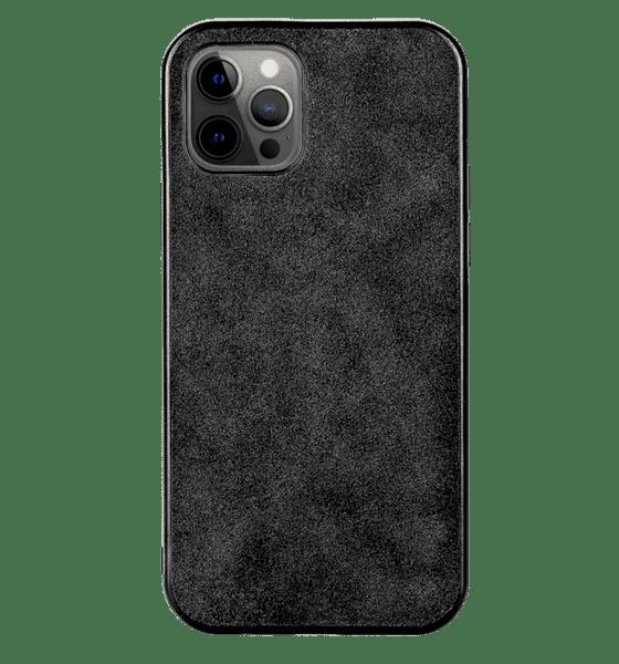 Alcantara кожен гръб Iphone 12 Pro Max