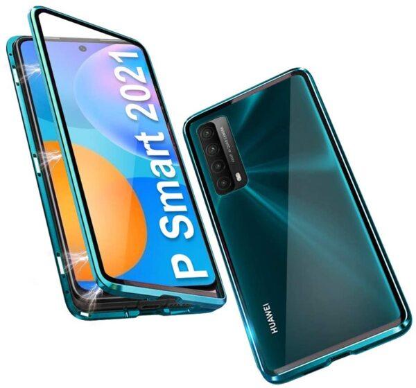 360 Magnetic Case с предно и задно стъкло Huawei P Smart 2021