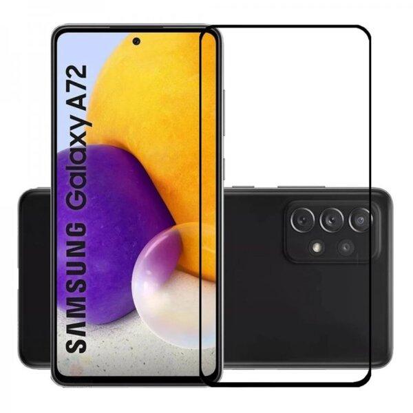 5D Glass FULL GLUE стъклен протектор Samsung A72