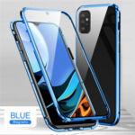 360 Magnetic Case с предно и задно стъкло Samsung A52-Copy