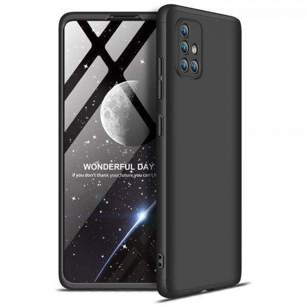 360 Case Apsos + стъклен протектор Samsung A72
