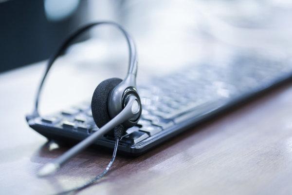 Жични QD слушалки за Call Center Изображение