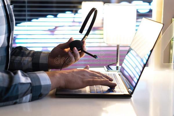 Жични USB слушалки за Call Center Изображение