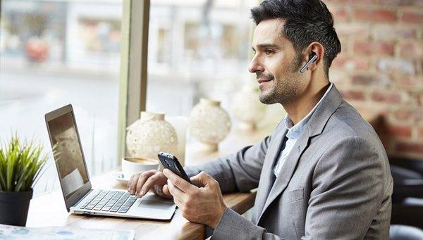 Безжични офис слушалки Изображение