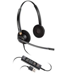 Plantronics EncorePro HW525 USB - Професионална микрогарнитура