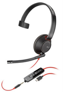 Plantronics Blackwire C5210 USB-А - Професионална микрогарнитура