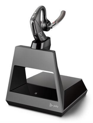 Plantronics Voyager V5200 D Office, 1-Way Base – Безжична слушалка с база