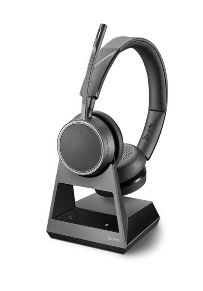 Plantronics Voyager V4220 CD Office, 2-Way Base USB-A - Безжична микрогарнитура с база