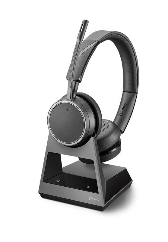 Plantronics Voyager V4220 D Office, 1-Way Base - Безжична микрогарнитура с база-Copy
