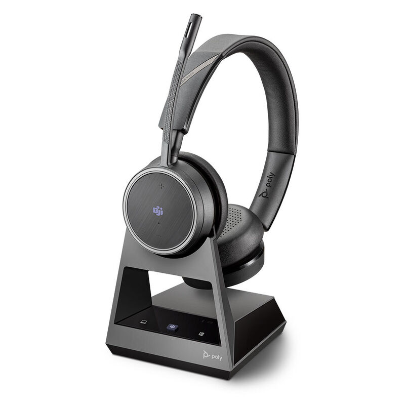 Plantronics Voyager V4210 D Office, 2-Way Base Microsoft Teams - Безжична микрогарнитура с база--Copy
