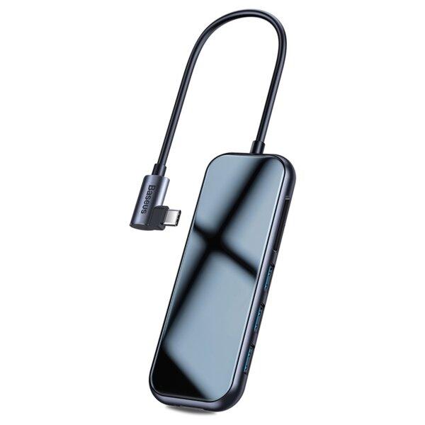 Baseus USB-C Mirror Series Hub CAHUB-CZ0G - Mултифункционален хъб за за устройства с USB-C